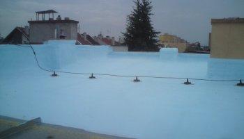 Hydroizolace ploché střechy Olomouc