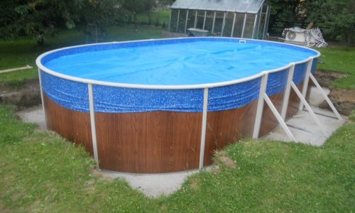 Tepelná izolace bazénu Česká Ves