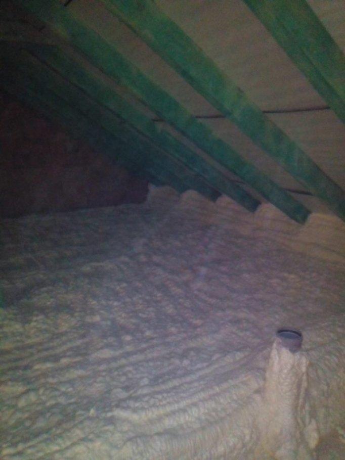 Zateplení stropu Březí