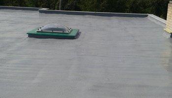 Tepelná izolace ploché střechy Nezamyslice