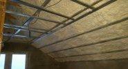 Zateplení podkroví v Kostelec u Holešova