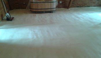 Zateplení podlahy RD v Pazucha