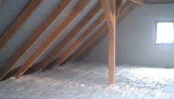Zateplení podlahy půdních prostor v Boršice u Blatnice