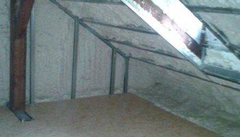 Tepelná izolace podkroví a podlahy v Olomouc, Na struze
