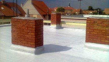Izolace ploché střechy Vnorovy