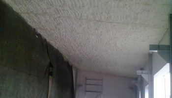 Zateplení stropu výrobní haly Mohelnice