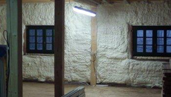 Tepelná izolace podkroví Deštné vOrlických horách
