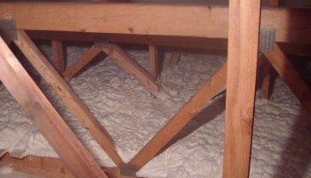 Zateplení stropu bungalovu Prostějov