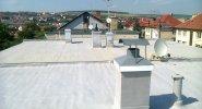 Tepelná izolace ahydroizolace ploché střechy Uherský Brod