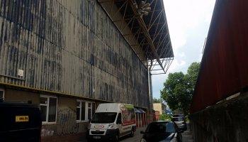 Zimní stadion v Olomouci - izolace rolbovny